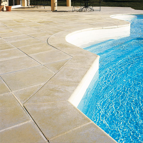 Cast Concrete Coping Stones & Paving