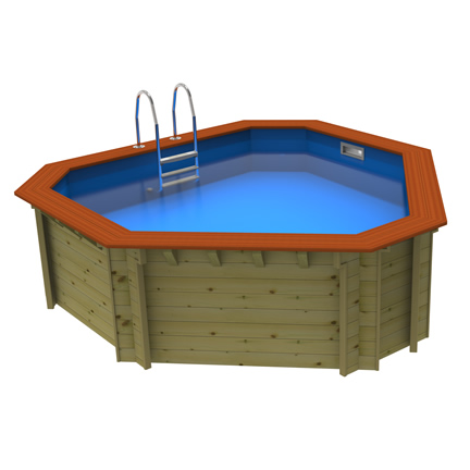 Wooden Walled Pools