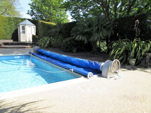 AquaShield Safety Cover up to 15ft x 30ft - Top Track Top Mount