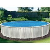 """New Oracle 24ft x 12ft x 52"""" deep Solid Wall Oval Above Ground Pool"""