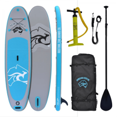 """Australian Board Co 10' 6"""" Inflatable Stand Up Paddle (iSUP) Single-layer Board Package"""