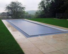 Aquatop Slatted Pool Cover - Pit Mount