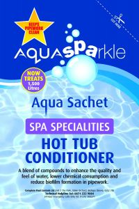 Aqua Sparkle - Hot Tub Conditioner Sachet Treats 1500 ltrs