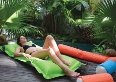 Beadz Breez Floating Lounger - Green