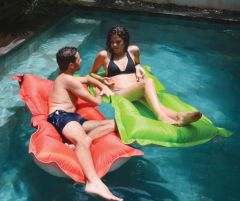 Beadz Breez Floating Lounger - Orange