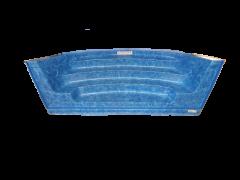 New Roman End Unit - Marble Blue