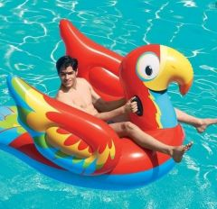 Peppy Parrot Ride-On Inflatable