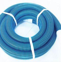 "Vac Hose - PVC Blue/Black Flex-Hose 1½"" With Swivel Cuffs"