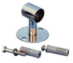Stainless Steel Open Bracket c/w Fixings