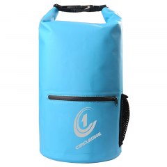 Circle One Waterproof Dry Bag Backpack Dry Sack 20 litre – Cylinder Style (with optional shoulder straps)