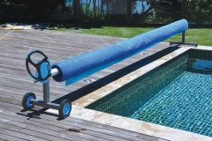 Alux Deluxe Aluminium T-Frame with Presto Reduction Gear Box For Pools upto 18ft (5m)