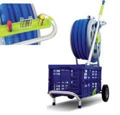 Kaddy Pool Equipment Storage Trolley
