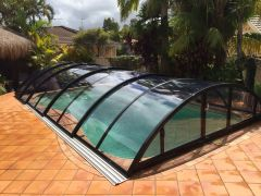 Klasik Clear Swimming Pool Enclosure