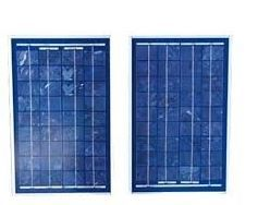Pair of 12v Solar Panels c/w charge controller
