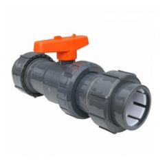 Flexfit Double Union Ball Valve 50mm Compression x 50mm Compression