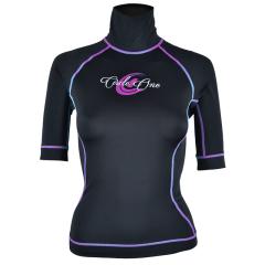 Circle One Lycra Short Sleeve Womens Rash Vest