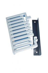 Modular Overflow Grating End Piece Kit For Parallel Grating Corners
