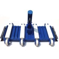 Flexible Vac Head With Side Brushes for Concrete Pool