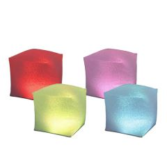 Lumi Cube Inflatable Floating Light (Set of 2)