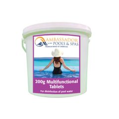 Multifunctional chlorine Pool Tablets