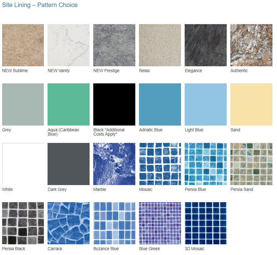 site liner pattern
